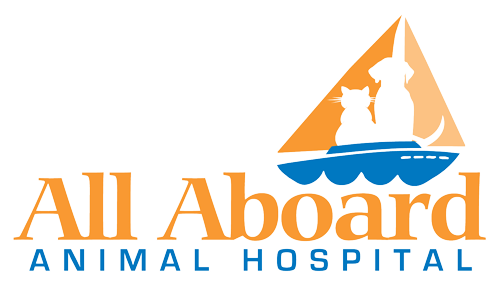 All Aboard Animal Hospital Logo
